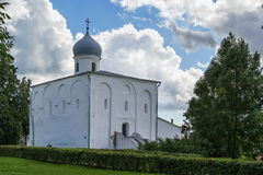 Assumption Church at the Trade Courtyard, Veliky Novgorod Royalty Free Stock Photography