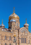 Assumption Church, Vasilevsky Island, Petersburg Stock Photo