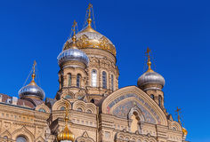 Assumption Church, Vasilevsky Island, St.Petersburg Stock Photo