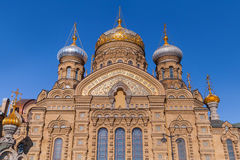 Assumption Church on Vasilevsky Island, St.Petersburg Royalty Free Stock Photos