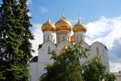 Assumption Church in Yaroslavl, Russia. Stock Images