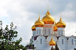 Assumption Church in Yaroslavl, Russia. Stock Photo