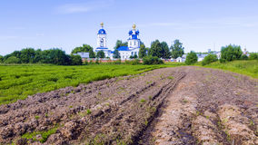 Assumption convent in the village Dunilovo, Russia Stock Image