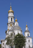 Assumption or Dormition Cathedral in Kharkiv, Ukraine. Royalty Free Stock Photos