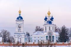 The assumption Dunilovski convent Stock Photos