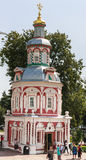 Assumption fount the chapel. Holy Trinity St. Sergius Lavra. Sergiev Posad Stock Photography