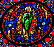 Assumption of Mary Stock Photo