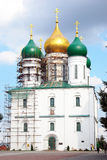 Assumption orthodox church. Kremlin in Kolomna, Ru Stock Photography