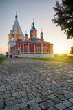 Assumption steepled belfry Royalty Free Stock Images
