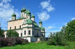 Assumption (Uapensky) cathedral of Goritsky monastery in Pereslavl Zalesskiy Stock Photos