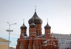 Assumption (Uspensky) Cathedral. Royalty Free Stock Photos