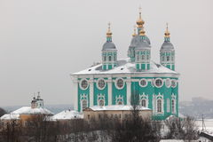Assumption (Uspensky). Smolenk. Russia. Royalty Free Stock Photo