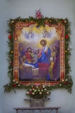 Assumption of the Virgin. Royalty Free Stock Image