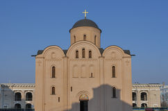 Assumption of the Virgin Mary Church Pirogoscha in Kiev, Ukraine Royalty Free Stock Photography