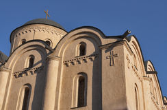 Assumption of the Virgin Mary Church Pirogoscha in Kiev, Ukraine Stock Photos