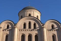 Assumption of the Virgin Mary Church Pirogoscha in Kiev, Ukraine Royalty Free Stock Photo