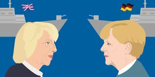 Assunto dos líderes políticos Imagens de Stock Royalty Free