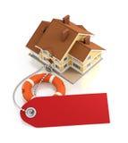 assurance à la maison Photo libre de droits