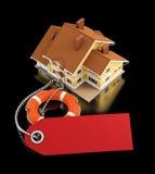assurance à la maison Image libre de droits