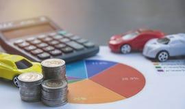 Assurance auto et service de voiture Assurance auto, affaires et finan Photos libres de droits