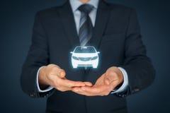 Assurance auto et services de voiture Image stock
