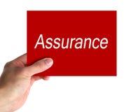 Free Assurance Concept Stock Photos - 36027713