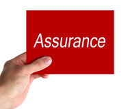 Assurance Concept Stock Photos