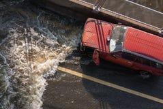 Assurance contre l'inondation Images libres de droits