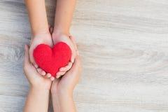 Assurance de famille et concept de CSR Image libre de droits