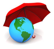 Assurance globale Images stock