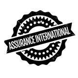 Assurance International rubber stamp Stock Photography