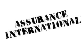 Assurance International rubber stamp Stock Image