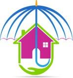 assurance à la maison Images libres de droits