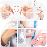 Assurance médicale maladie. image libre de droits