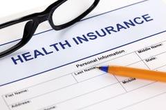 Assurance médicale maladie Photographie stock