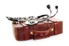 Assurance médicale maladie de course photographie stock libre de droits