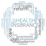 Assurance médicale maladie Images stock