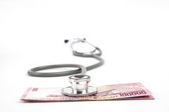 Assurance médicale maladie de l'Indonésie Photographie stock libre de droits