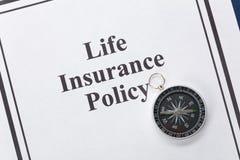 Assurance-vie Image stock
