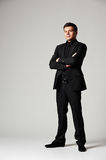 Assured man in formal wear Royalty Free Stock Photos