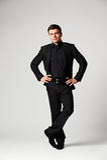 Assured stylish businessman Stock Image