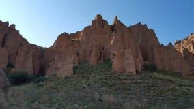 Assy bastionu skały Obrazy Royalty Free
