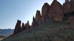 Assy bastionu skały Zdjęcie Stock