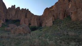 Assy bastionu skały Zdjęcie Royalty Free