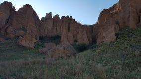 Assy bastionu skały Fotografia Royalty Free