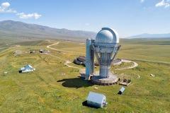 Assy Observatory in Zuidoostenkazachstan in Augustus 2018 t wordt genomen dat stock foto