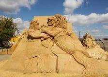 'Assyria' jest długim nieboszczykiem, prawie mityczna cywilizacja Rozważający być jeden pierwszy imperia w historii ludzkość Obraz Royalty Free