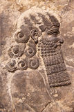 Assyrian Kunstentlastung Lizenzfreie Stockfotografie