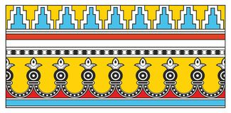 Assyrian Ornament Stock Image