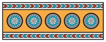 Assyrian Ornament Stock Images